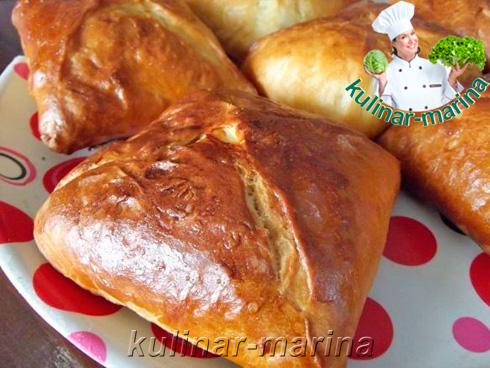 Пошаговые фотографии рецепта: Вкуснейшие пирожки с горохом | Delicious pies with peas