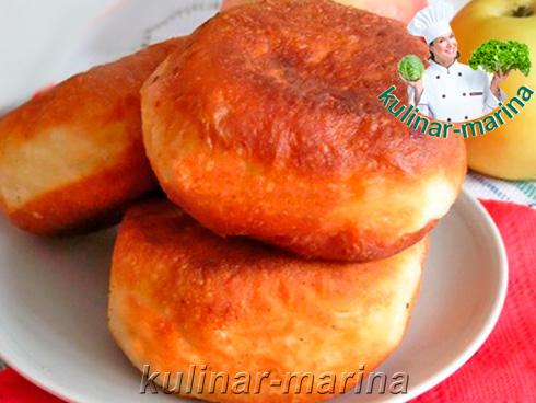 Пончики с яблоками | Donuts with apples