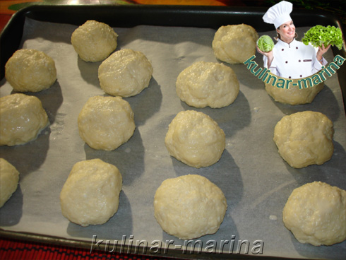Фотографии пошагового рецепта: Творожные булочки за 15 минут | Cheese biscuits in 15 minutes