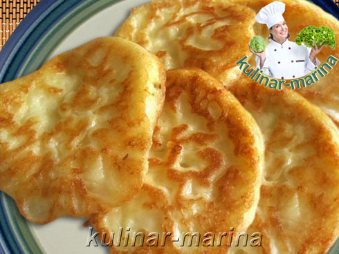 Оладушки из сыра и творога | Pancakes with cheese and cottage cheese