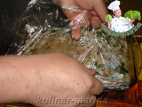 Мясная закуска из рульки | Charcuterie from the shank
