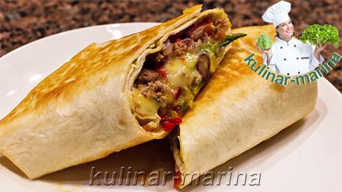Мексиканское буррито   Mexican burrito