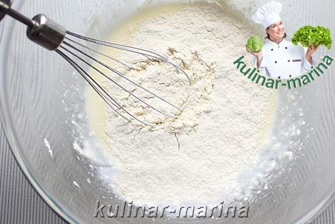 Творожный омлет с повидлом | Cheese omelette with jam