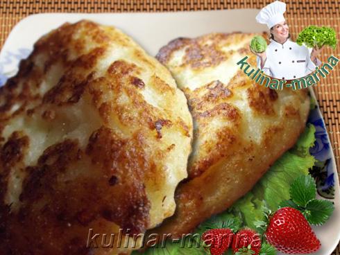 Лепешки из творога | Cheese scones