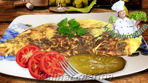 Омлет холостяка с овощами | Omelet with vegetables