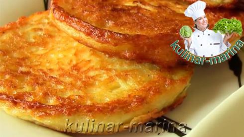 Драники с творогом | Pancakes with cottage cheese