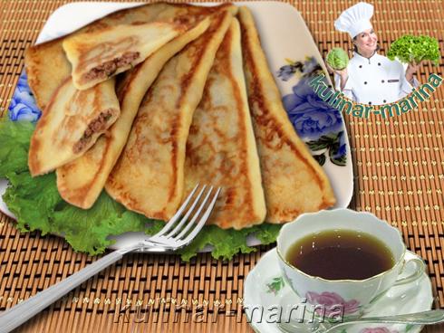 Блины с припеком | Baked pancakes