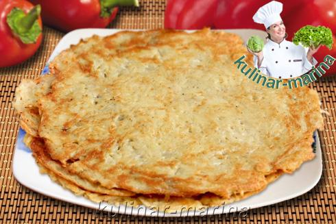 Картофельно-яичные блины | Potato-egg pancakes