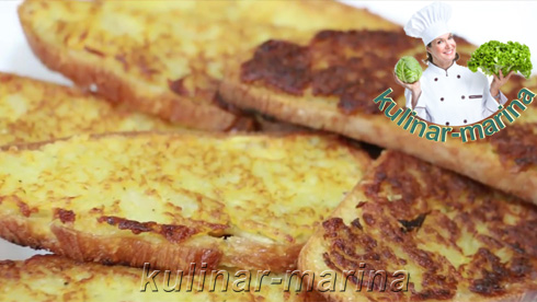 Горячие гренки с картошкой | Hot toast with potatoes