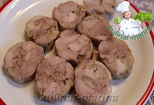 Колбаса куриная домашняя   Chicken sausage is homemade