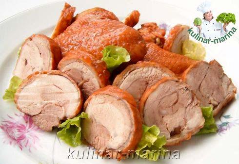 Копченое куриное мясо