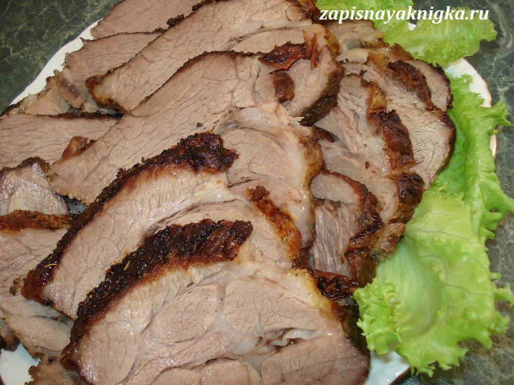 151Шея свинины в духовке рецепты
