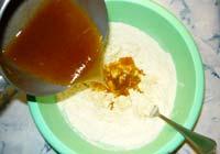 Медовые кексы с изюмом